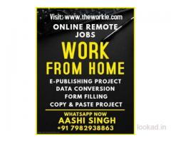 Typing-Ad-Posting-Form Filling Jobs