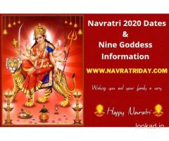 Check Navratri 2020 Dates and Nine Goddess Information - Navratri Day