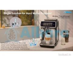 Natural water softeners for coffee machine
