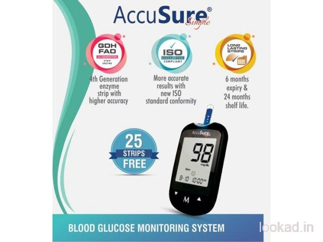 Buy Accusure Glucometer at Very Affordable Price