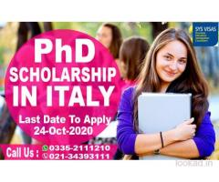 2020 PHD Scholarship In Italy
