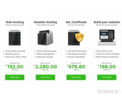 Domain and Hosting Service - Fast , Secure and Affordable