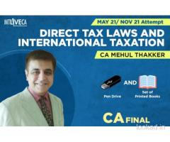ca final dt pendrive classes, Mehul Thakker CA Final classes, best faculty for ca final
