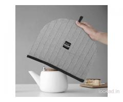 Buy Herringbone Chambray Tea Cosy Set at Samysemart