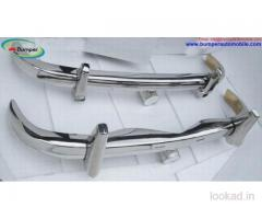 Front And Back Mercedes Ponton W105, W180, W128 saloon bumper 1954-1959